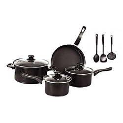 Gourmet Chef 10--piece Non Stick Cookware Set