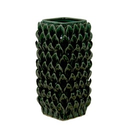 Green Ceramic Vase
