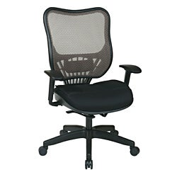 Office Star Executive Latte Air Grid Back Chair