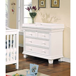 Heartland White Pine Changing Table