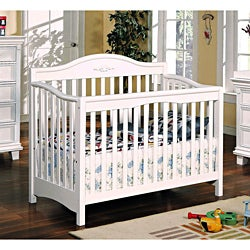 Heartland White Finish Baby Crib