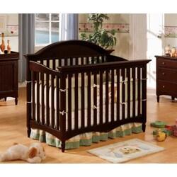 Stanton Espresso Finish Convertible Baby Crib