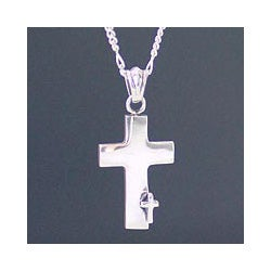 Sterling Silver Men's 'Faithful' Necklace (Indonesia)