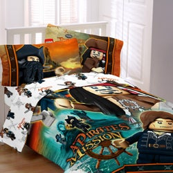 Lego Pirates 'Ships Away' Bed in a Bag with Sheet Set