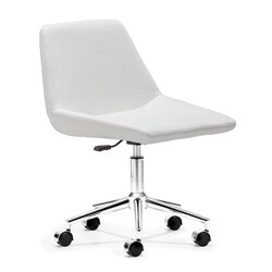 Zen White Office Chair