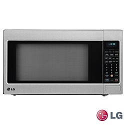 LG Stainless Steel Countertop Microwave Oven (Refurbished)