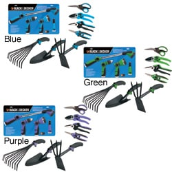 Black & Decker Home 8-piece Ultimate Garden Tool Kit