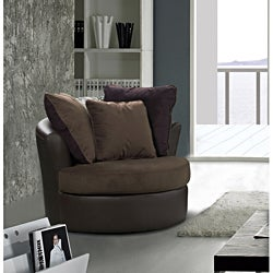 Tucana 2 Tone Swivel Chair
