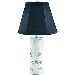 Birch Log Design Table Lamp