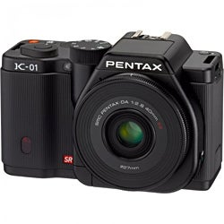 Pentax K-01 16.3MP Digital SLR Camera with 18-55mm Lens