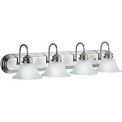 Kichler Brushed Nikcel Four-light Bath Bar