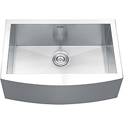 Ruvati 16-gauge Stainless Steel 30-inch Single Bowl Apron Front Kitchen Sink