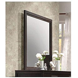 Boardwalk Wenge Finish Mirror