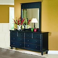 Macedonia Black Dresser/ Mirror