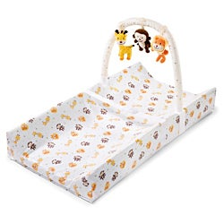 Summer Infant Safari Fun Change 'n Play Changing Pad with Toybar