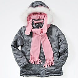 Rothschild Girl's Jacket and Scarf Set