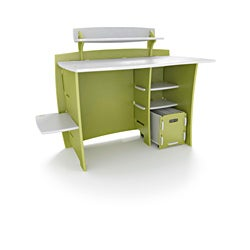 Legare Kids' 43-inch Green/ White Desk with File Cart