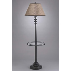 Transitional 1 Light Bronze Floor Lamp