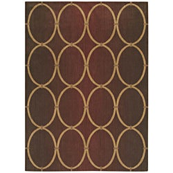 Pacifica Legacy Firebrick Red Wool Rug (7'9 x 10'10)