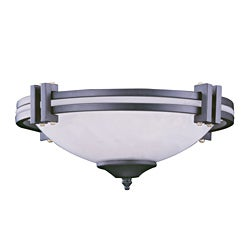 Three Light Graphite Ceiling Fan Light Kit