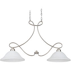 Two-Light 100-Watt Island Pendant