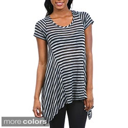 Stanzino Women's Striped Trapeze Top