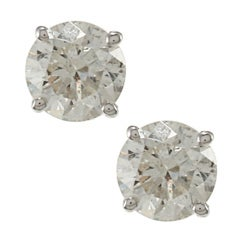 14k Gold 1ct TDW Certified Clarity-enhanced Diamond Stud Earrings