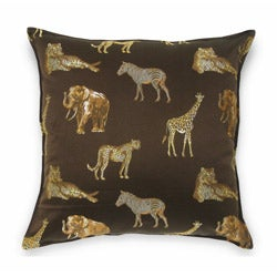 Safari Brown 24-inch Pillow