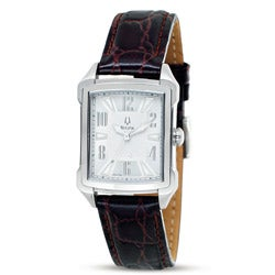 Bulova Women's Adventurer Vintage Silver Dial Watch