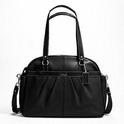 Coach 'Addison' Leather Baby Tote Bag