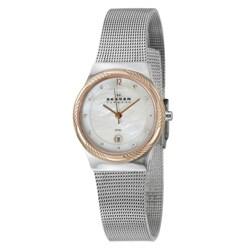 Skagen Women's 'Mesh' Stainless Steel Watch