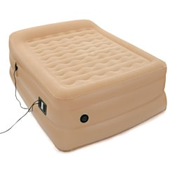 Easy Riser 25-inch Queen-size Air Bed with Built-in Pillow