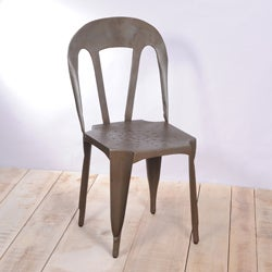 Natural Kullu Metal Chair (India)