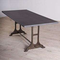 Gwalior Zinc Finished Iron Dining Table (India)