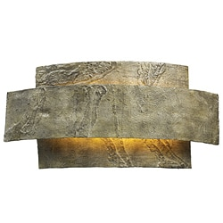 Elk Lighting 1-light Weathered Stone Sconce