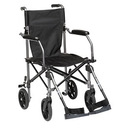 Travelite Grey Transport Chair with Carry Bag