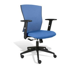 Robin Blue Office Chair with Arms