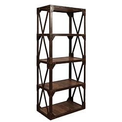 Starx Wood Plank Bookshelf