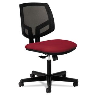 HON Volt Crimson Mesh Back Task Chair
