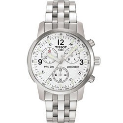 Tissot Men's Stainless-Steel T-Sport Swiss Quartz Chronograph Watch