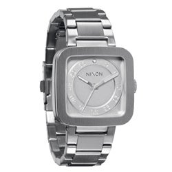 Nixon Men's Stainless Steel White Riot Watch