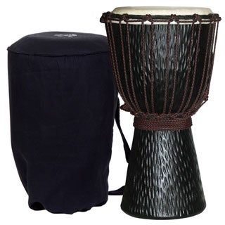 World Rhythm Backpacker Djembe with Bag (Indonesia)