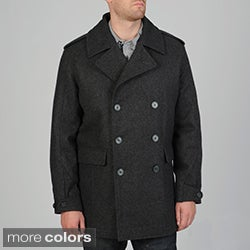 Geoffrey Beene Men's Darcy Wool Blend Peacoat