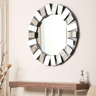 Abbyson Living Portico Round Wall Mirror