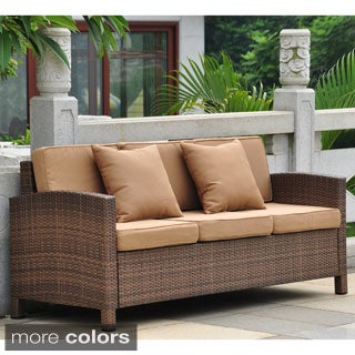 Barcelona Resin Wicker Outdoor Sofa Set