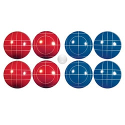 Franklin Classic Red/Blue Bocce Set