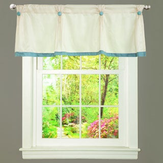 Lush Decor Monica Tufted Button Window Valance