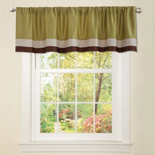 Lush Decor Hester Green Valance