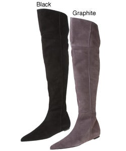 Kenneth Cole Christine Women's Knee High Suede Boot