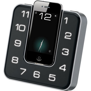 iLive ICP391B Clock Radio - Stereo - Apple Dock Interface